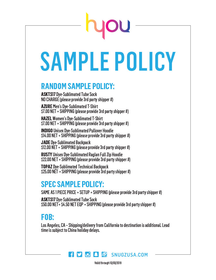 HYOU Sample Policy
