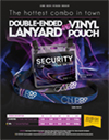 Security Lanyard & Vinyl Pouch