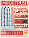 Import Rush Double-Ended Dye-Sub Lanyards